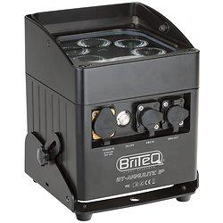 PROJECTEUR LED ETANCHE 6X10W RGBWA SUR BATTERIE IP65 BRITEQ