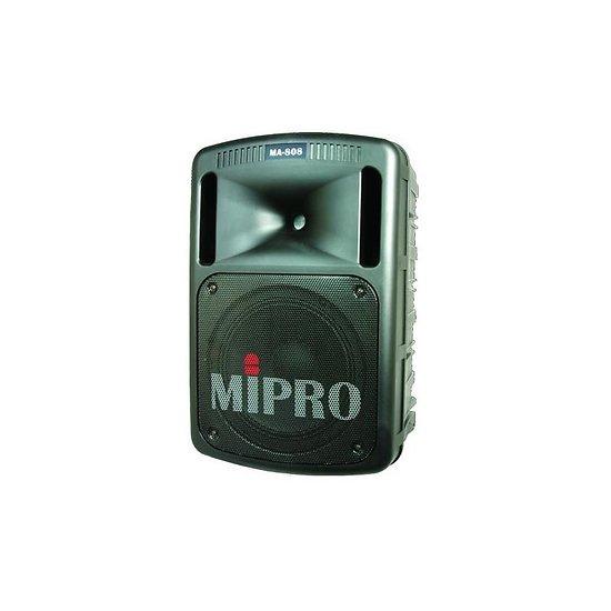 ENCEINTE AMPLIFIEE 250W PORTABLE SUR BATTERIE MIPRO AVEC 2 MICRO HF