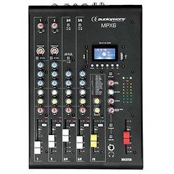 MIXER 8 CANAUX USB/SD/BT MPX 6 AUDIOPHONY
