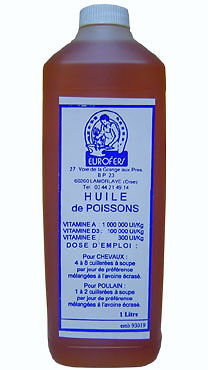 HUILE DE POISSON 5 LITRES