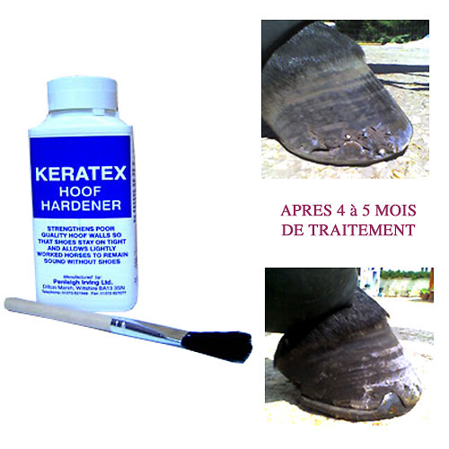 KERATEX FORTIFIANT POUR SABOT  - 250 ml