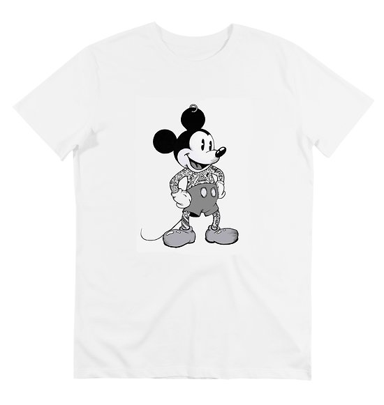T-SHIRT MICKEY TATOO