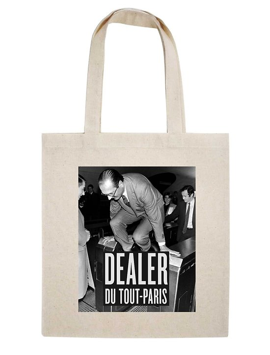 TOTE BAG DEALER DU TOUT-PARIS