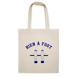 TOTE BAG RIEN A FOOT