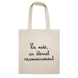 TOTE BAG LA MODE UN ETERNEL RECOMMENCEMENT