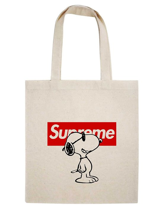 TOTE BAG SNOOPY BOX SUPREME