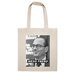 TOTE BAG WESH FRERO