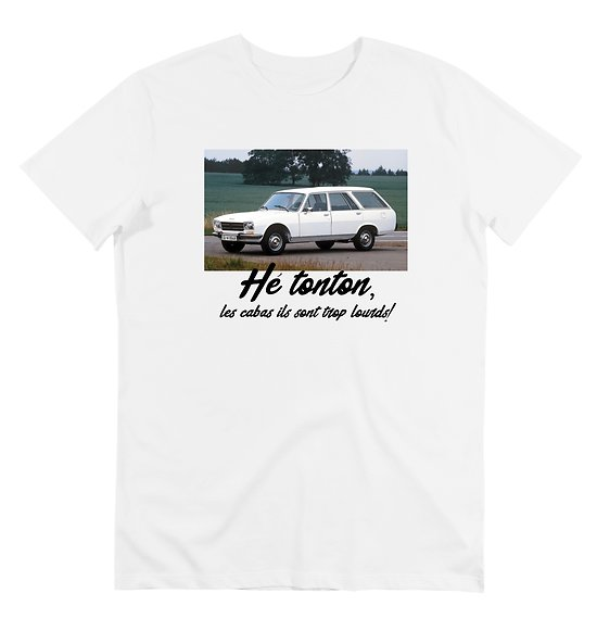T-SHIRT  504 Hé TONTON,