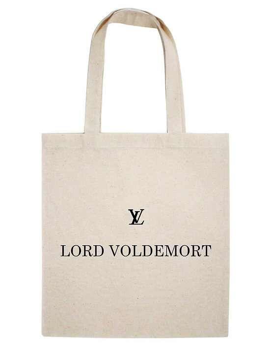 TOTE BAG LV LORD  VOLDEMORT