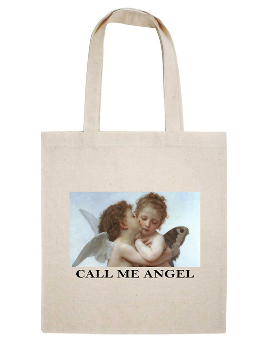 TOTE BAG CALL ME ANGEL