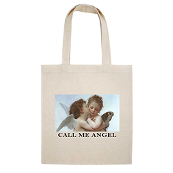 TOTE BAG CALL ME ANGEL