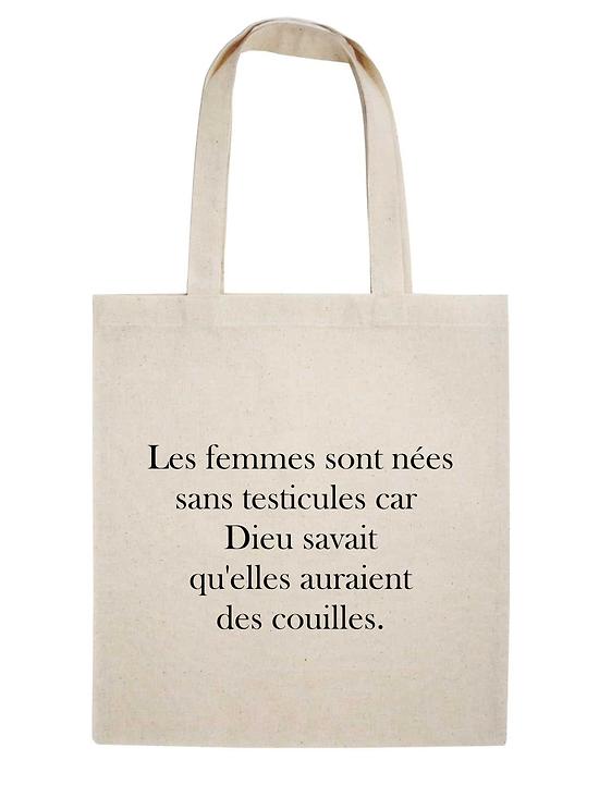 TOTE BAG LES FEMMES SONT N...