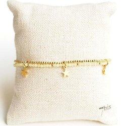 Bracelet étoiles précieuses