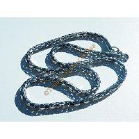 Chaine 52 Cm Collier Acier Inoxydable Serpentine 3 Dimensions 4 mm