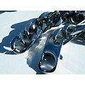 Collier Chaine Longue 62 cm Maille Gourmette 10 mm Pur Acier Inoxydable