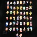 LOT Revendeur 50 Bagues Cartoon Dessins Animés Ajustable Silicone Enfants DYSNEY Discount