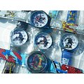 LOT 5 MONTRES SUPER HEROES Garcons COOL STYLE Acier Inoxydable  Multicolore