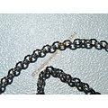Collier 45 cm Chaine Style Maille Jaseron Argenté Pur Acier Inoxydable  Chirurgical 1,9 mm