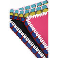 Maillot de bain 2 pieces Bikini pérou  Multicolore Crochet Rose Bleu Néoprène XL