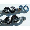 Chaine Collier Acier Inoxydable Brillant 41 S $ Bling Bling Hip Hop 11 mm 56 cm