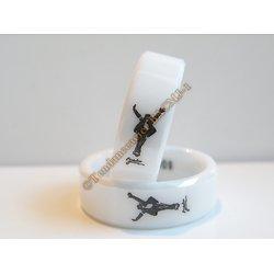 Bague MJ Michael Jackson This Is IT Céramique Incassable Collector