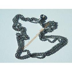 Bracelet Femme Fille 6 Chaines Pur Acier Inoxydable Argenté 20 cm Ajustable
