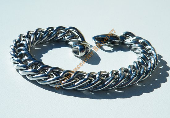 00309aa231049 bracelet maille homme