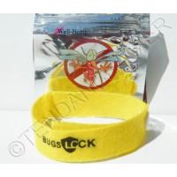 Lot 10 Bracelets Anti Moutique BUGSLOCK Mosquito 75 Jours Protection Citronelle Ajustable