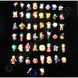 LOT Revendeur 50 Bagues Cartoon Dessins Animés Ajustable Silicone Enfants DYSNEY Discount