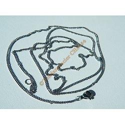 Chaine Collier Argenté Extra Long 71 cm Pur Acier Inoxydable Maille 1,4 mm