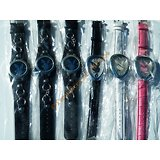 LOT 6 MONTRES COQUIN LAPIN PLAY BOY FEMME Cuir Acier Inoxydable Multicolore