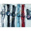LOT 6 MONTRES DIFFERENTES HELLO KITTY SPECIAL MODE FEMME FILLE ACIER CUIR