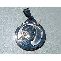Pendentif Médaille Pape Francois 1 FRANSISCO Religion Catholique  Argentine + Chaine