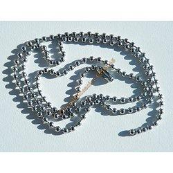 Chaine Acier Inoxydable Boules 2,3 mm Argentée