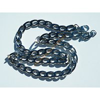 Collier Chaine 58 cm Acier Inoxydable Maille Cheval Gourmette 10 mm