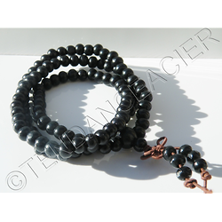 Collier Ou Bracelet Mâlâ Japa Mala Rudraksha Chapelet Religion Protection 108 Perles
