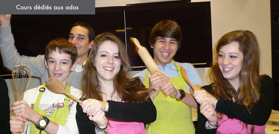 Ateliers culinaires pour ados