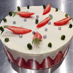 Une folle envie de fraisier
