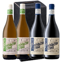 Rickety Bridge Foundation Stone - 4 flessen in geschenk