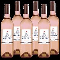 Le Malbec Rosé de Famaey - 6 x 75cl