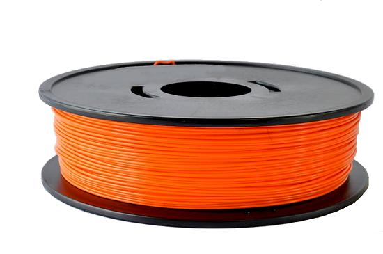 PLA Orange 750g  fabriqué en France