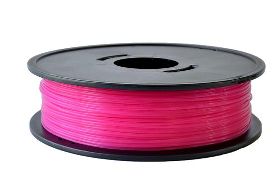 PLA Rose fushia translucide  3D filament  Arianeplast 1.75mm fabriqué en France