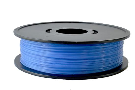 PLA Bleu translucide 3D filament Arianeplast 750g  fabriqué en France