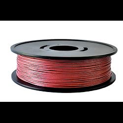 PLA Rouge métallisé  3D filament  Arianeplast 1.75mm  fabriqué en France