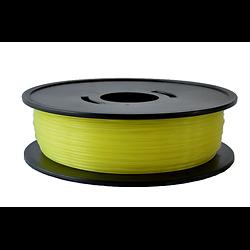 PLA Jaune translucide  3D filament  Arianeplast 1.75mm fabriqué en France