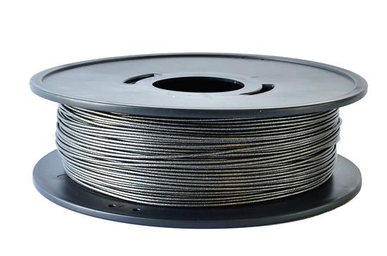 PLA Noir métallisé  3D filament Arianeplast 1.75mm  fabriqué en France