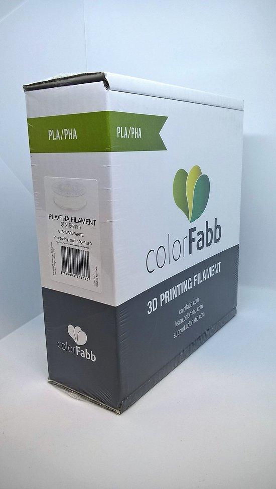 PLA/PHA Blanc 2.85mm ColorFabb