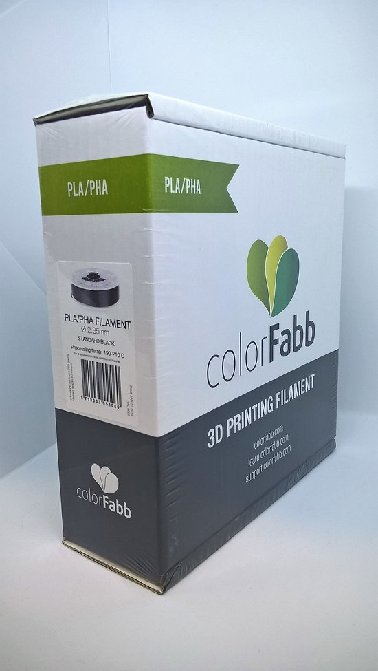 PLA/PHA Noir 2.85mm ColorFabb