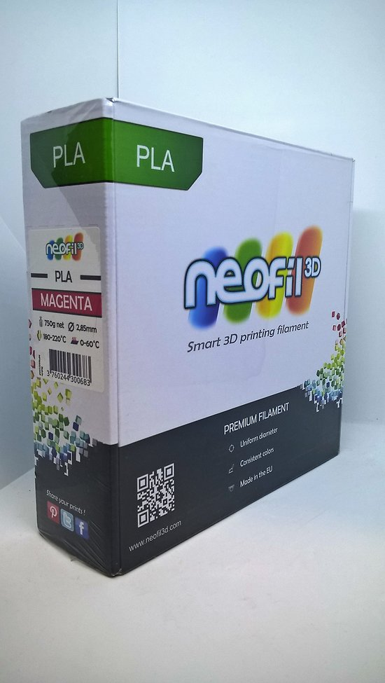 PLA Magenta 2.85mm Neofil3D