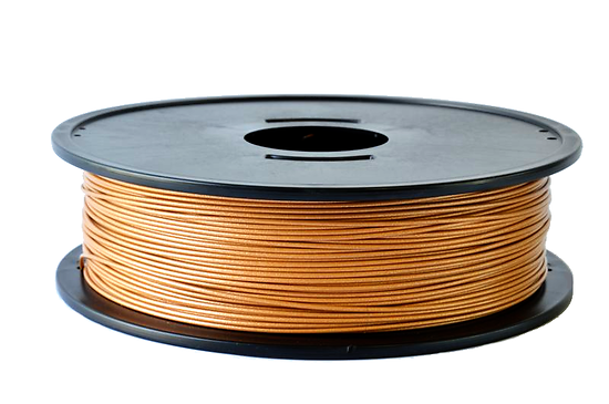 PLA Ocre métallisé 3D filament Arianeplast 750g  fabriqué en France